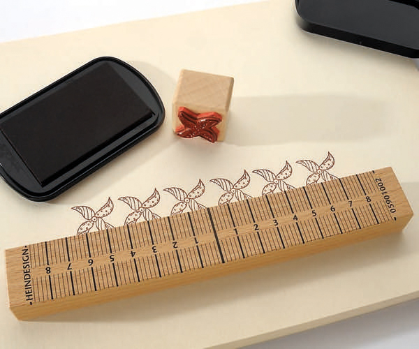 Stempel-Anlegeleiste 20 cm