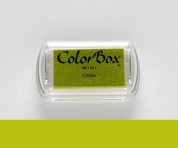 Mini ColorBox · Citrine - Grüner Topaz