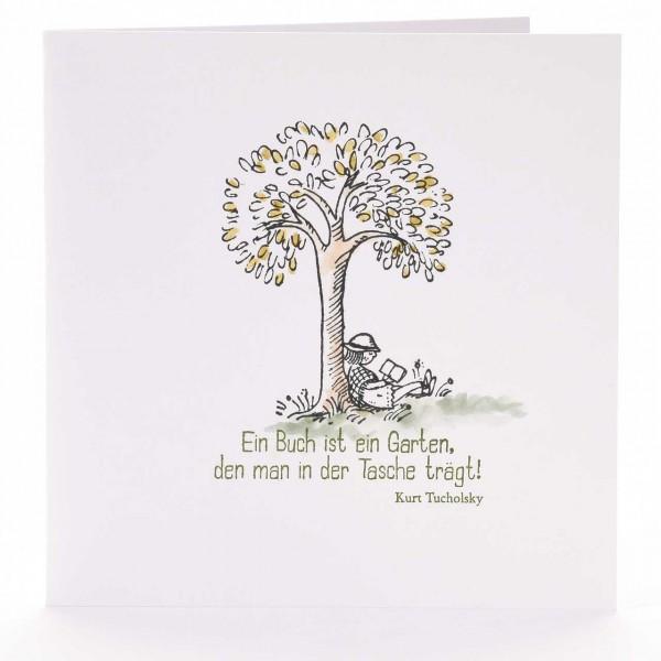 Ein Buch ist ein Garten ...