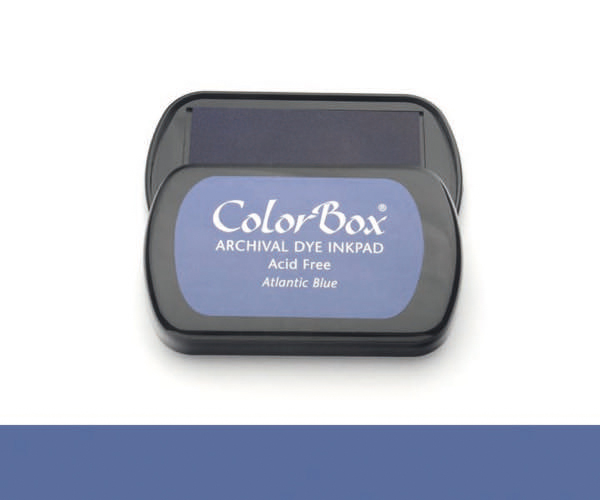 CB Archival Dye Ink Stempelkissen · Atlantic Blue - Atlantik (Blau)