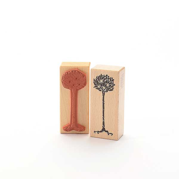 Motivstempel Titel: Orangenbaum
