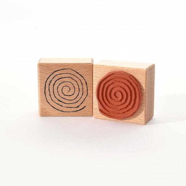 Motivstempel Titel: Spirale