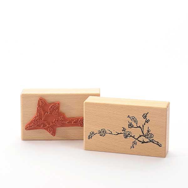 Motivstempel Titel: Zweig mit Blüten