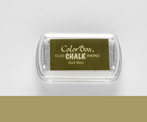 MINI-Chalk Dark Moss - Moosgrün