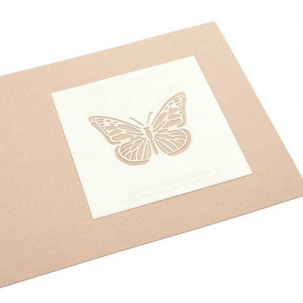 Mini-Kite-Schablonen - Schmetterling
