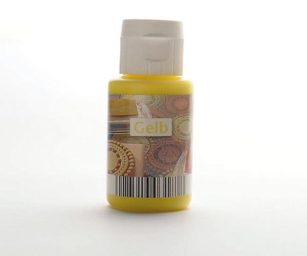 Acryl zum Stempeln · Gelb
