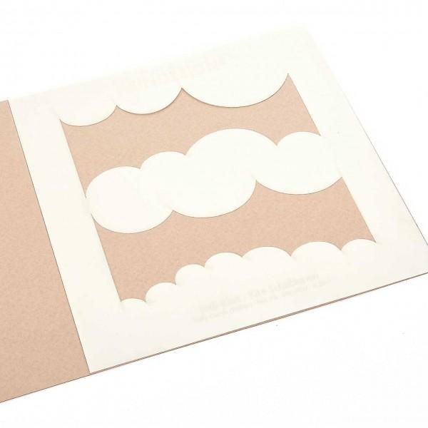 Kite-Schablonen - Wolken