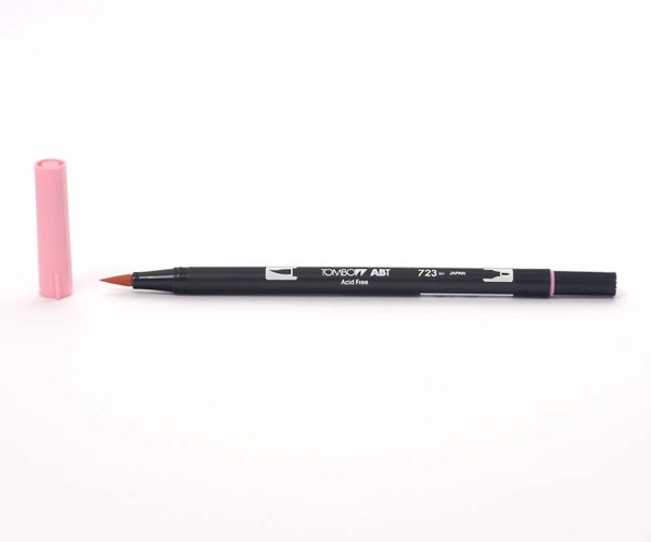 Tombow Dual Brush Pen - Pink - Pink