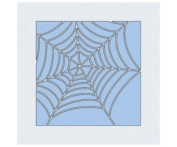 Judi-Kins Kite-Schablonen - Spinnennetz