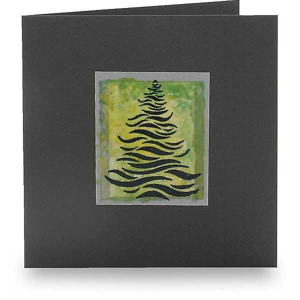 Weihnachtsbaum in Wellen