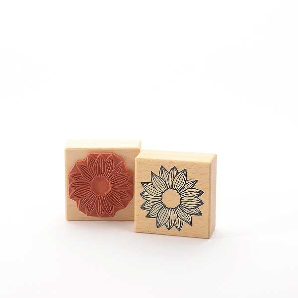 Motivstempel Titel: Blumenbaukasten - Blüte (linear)