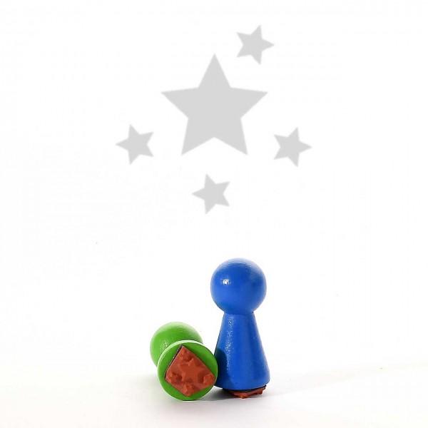 Motivstempel Titel: Mini Sternchen