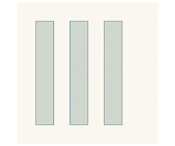 Grafische Schablonen - Breite Streifen