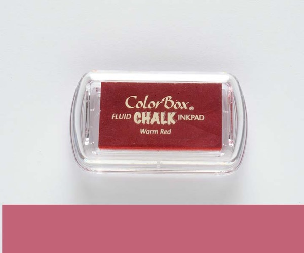 MINI-Chalk Warm Red - Warmes Rot