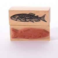 Motivstempel Titel: Frischer Fisch