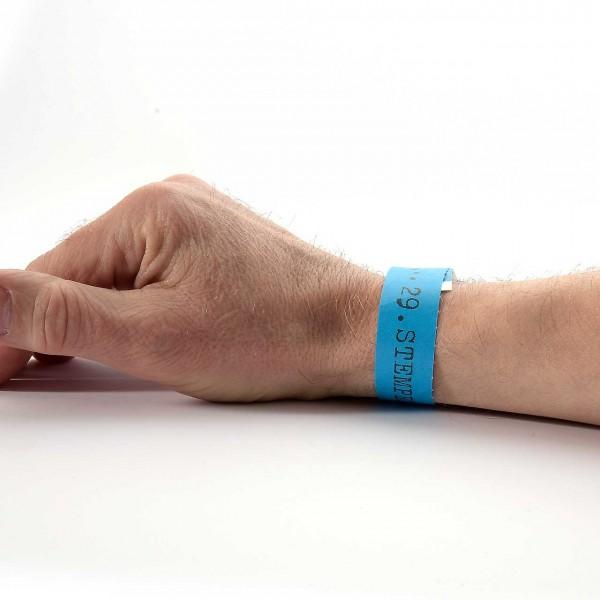 29. Stempel-Mekka 2020 Einlassband · Blau · Samstag für eine Person ab 12 Jahre