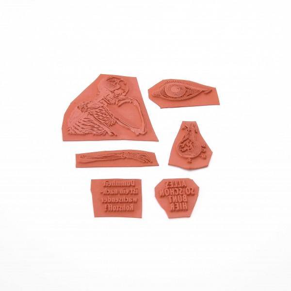 Gummitüte: anatomische Motive