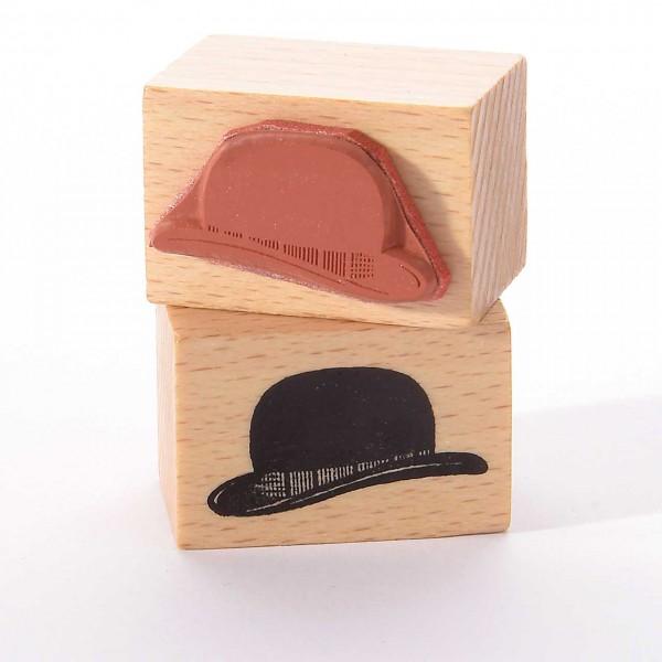 Motivstempel Titel: Bowler Hut