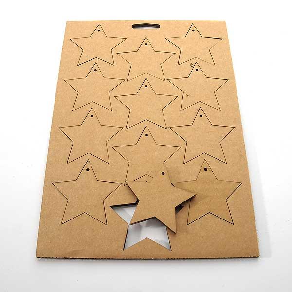 von Pappe · Sterne
