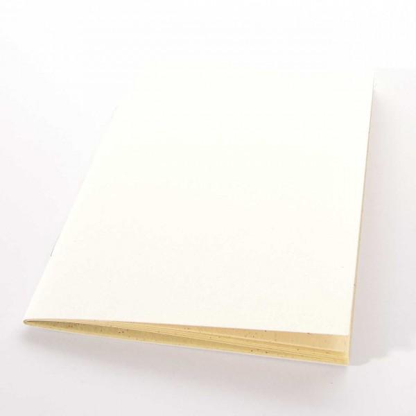 Königspapier - Notizheft Weiß