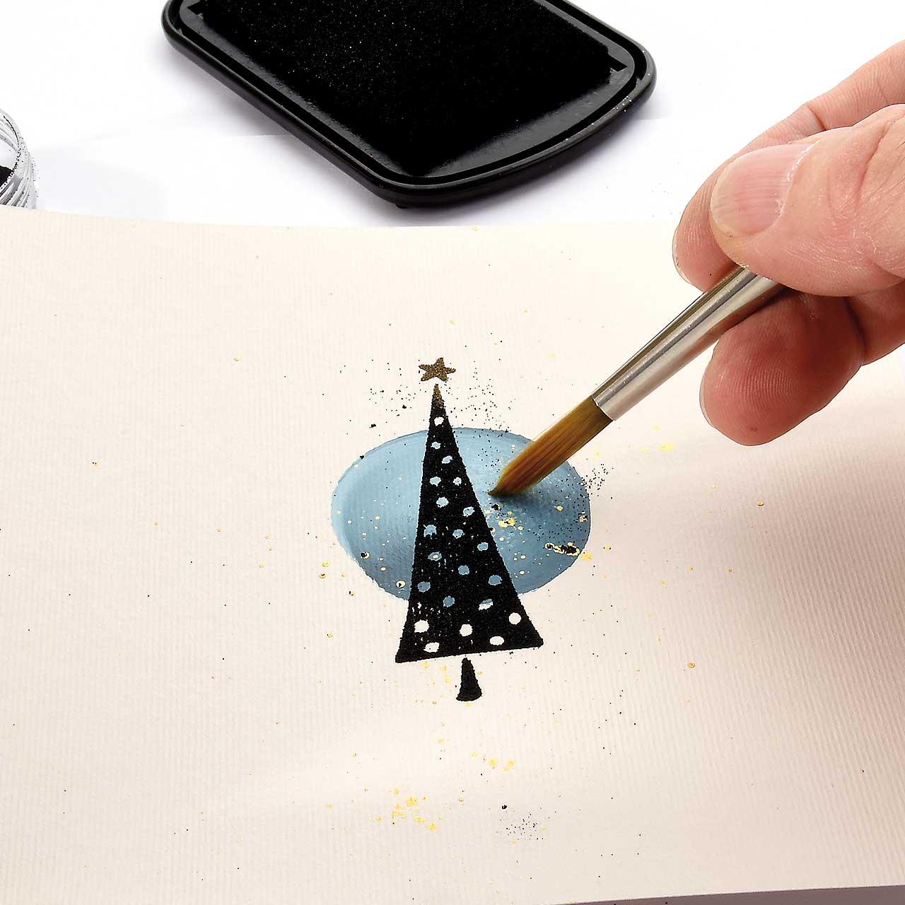 Spitze Für Tannenbaum.Tannenbaum Mit Goldener Spitze Weihnachten Kann Kommen Ideen