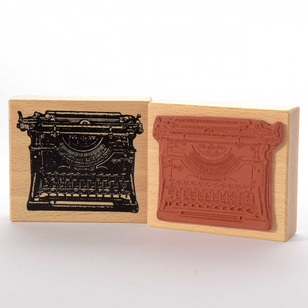 Motivstempel Titel: Judi-Kins Underwood Schreibmaschine