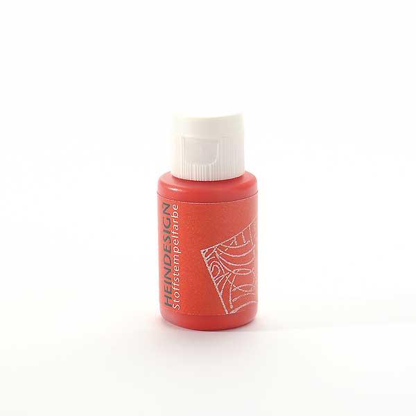 Stoffstempelfarbe - Rot