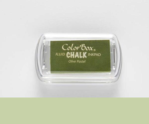 MINI-Chalk Olive Pastell - Kreide Hell Olivegrün