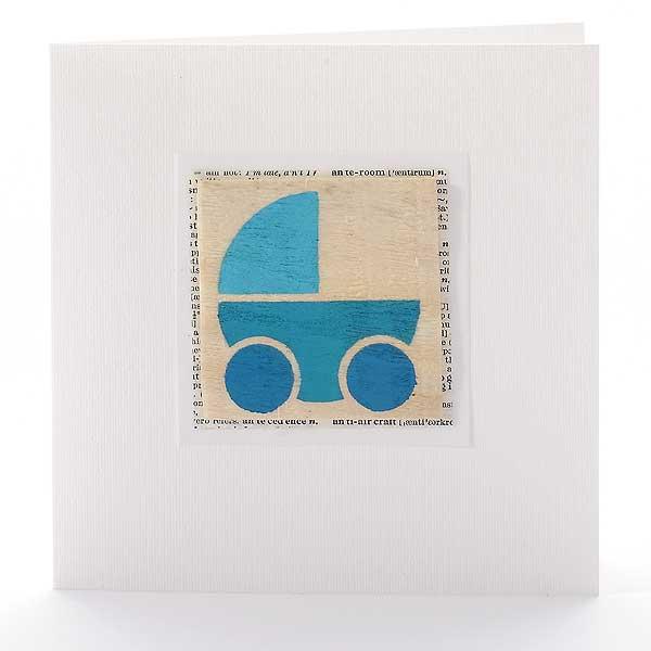 Grafische Schablonen - Kinderwagen
