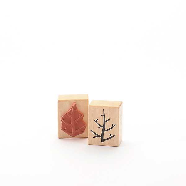 Motivstempel Titel: Zweig oder Baum