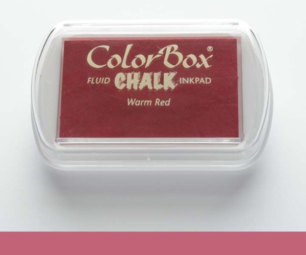 ColorBox Chalk · Warm Red - Kreide Warmes Rot