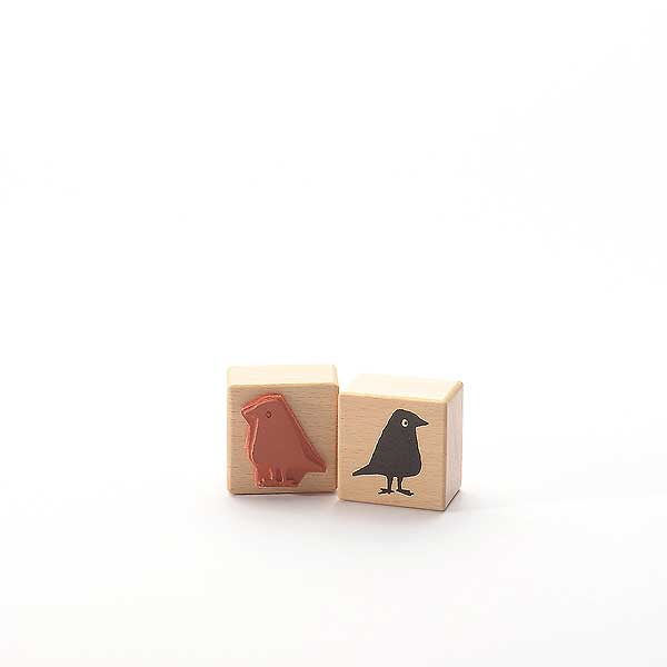 Motivstempel Titel: Schwarzer Vogel