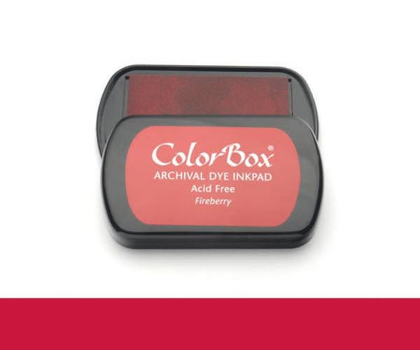 CB Archival Dye Ink Stempelkissen · Fireberry - Feuerbeeren
