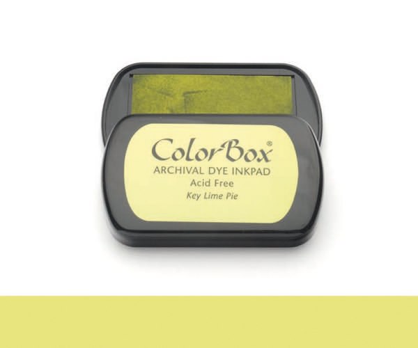 CB Archival Dye Ink Stempelkissen · Key Lime - Limette (Gelbgrün)