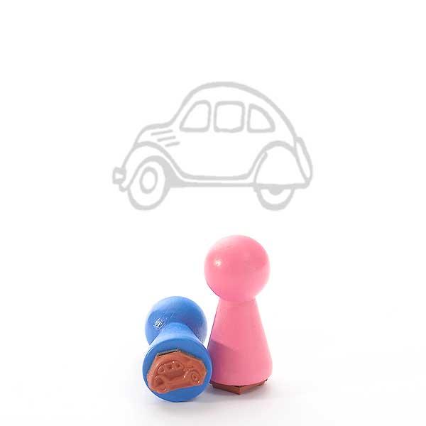 Motivstempel Titel: Ministempel Auto