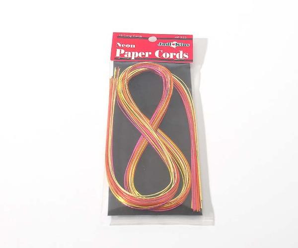 Judi-Kins Papier-Kordeln Farbkombination - Neon