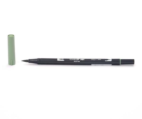 Tombow Dual Brush Pen - Asparagus - Grüner Spargel