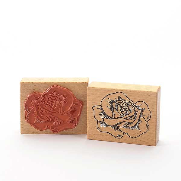 Motivstempel Titel: Rosenblüte