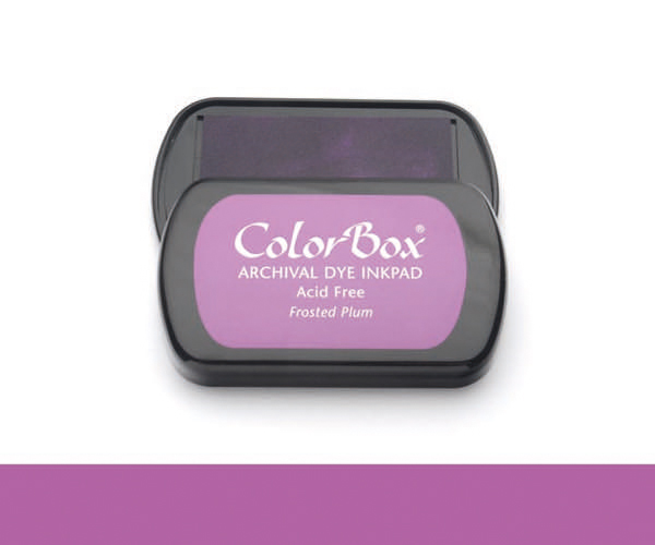 CB Archival Dye Ink Stempelkissen · Frosted Plum - Zwetschge (Pastell Violett)