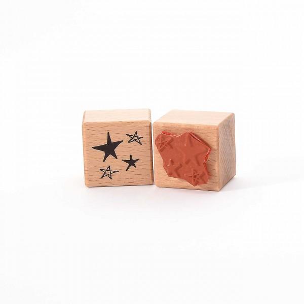 Motivstempel Titel: Kleine Sterne