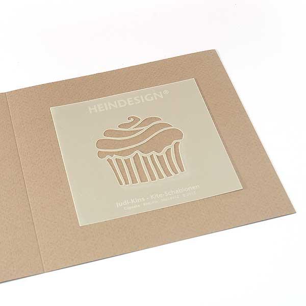 Mini-Kite-Schablonen - Cupcake