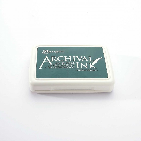 Ranger Archival Ink - Library Green · Dunkelgrün