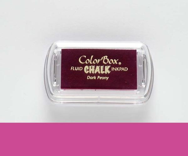 MINI-Chalk Dark Peony - Pfingstrose