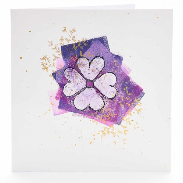 Herzblattblüte