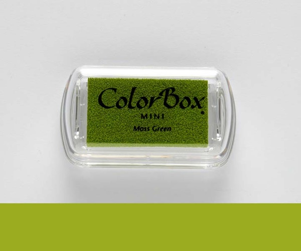 Mini ColorBox · Moss Green - Moosgrün