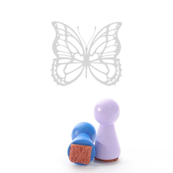 Motivstempel Titel: Ministempel Schmetterling