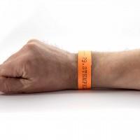 29. Stempel-Mekka 2020 Einlassband · Orange · Sonntag für eine Person ab 12 Jahre