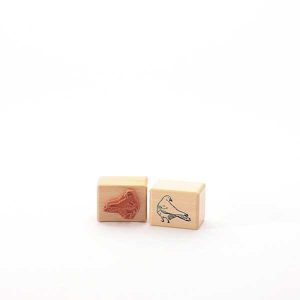 Motivstempel Titel: Tina - liten duva - kleine Taube