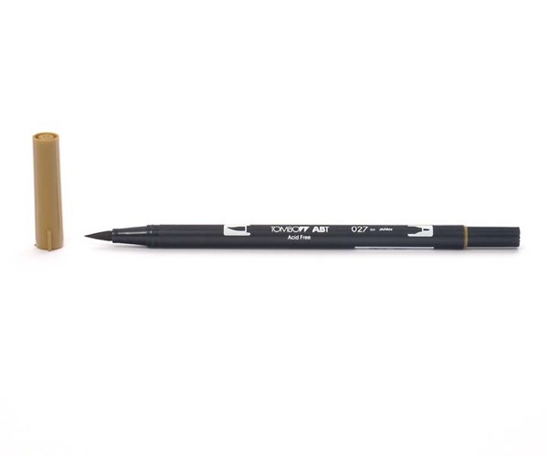 Tombow Dual Brush Pen - Dark Ochre - Dunkel Ocker
