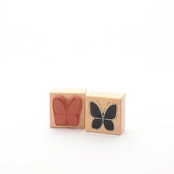 Motivstempel Titel: Schmetterling mit dünner Linie